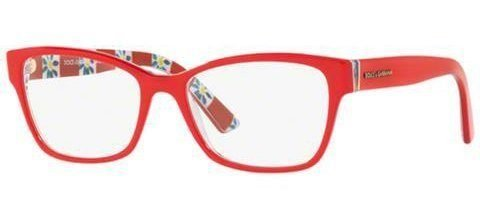 Dolce & Gabbana DG3274 Red on Floreal Fantasy (3129)