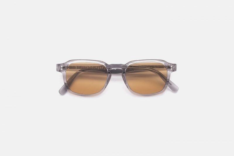 SUPER LUCE QAX Cristal Grey/Light Brown