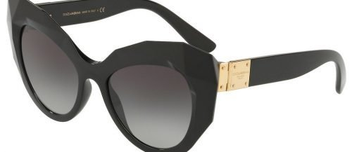 Dolce & Gabbana DG6122 Black/grey Shaded (501/8G)