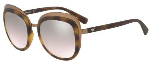 Emporio Armani EA2058 Bronze Havana/brown Silver Shaded (3201/8Z)