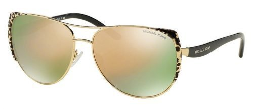 Michael Kors SADIE I MK1005 Black Gold Mirror Leopard/Black (1057R5)