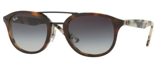 Ray-Ban RB2183 Top Brown Havana/Havana Beige/Grey Gradient Mirror Blue (12268G)