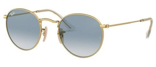 Ray-Ban ROUND METAL RB3447N Arista/Crystal White Grad. Blue(001/3F)