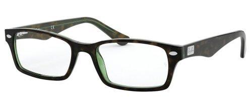 Ray-Ban RX5206 Havana/Green (2445)