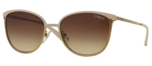 Vogue VO4002S Matte Beige Brushed Gold/Brown Gradient (996S13)