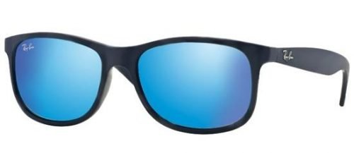 Ray-Ban ANDY RB4202 Blue/green Blue Mirror (6153/55)