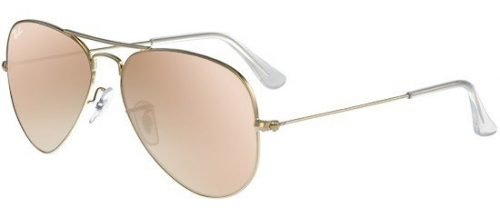 Ray-Ban AVIATOR LARGE METAL RB3025 Gold/pink Shaded (001/3E)
