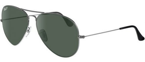Ray-Ban AVIATOR LARGE METAL RB3025 Ruthenium/g-15 Classic Green (004/58)