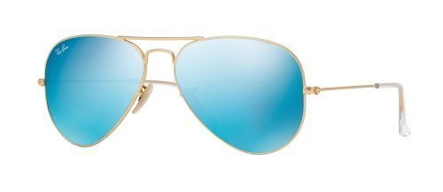 Ray-Ban AVIATOR LARGE METAL RB3025 Matte Gold/blue (112/17)