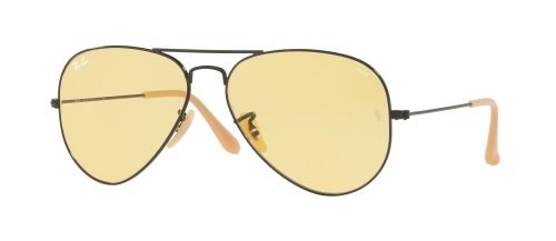 Ray-Ban AVIATOR LARGE METAL RB3025 Black/yellow  (9066/4A)