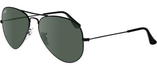 Ray-Ban AVIATOR LARGE METAL RB3025 Black/g-15 Classic Green (L2823)