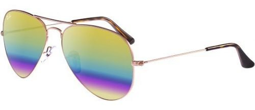 Ray-Ban AVIATOR LARGE METAL RB3025 Light Bronze/gold Rainbow (9020/C4)