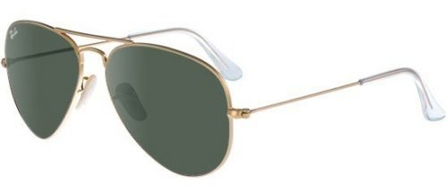 Ray-Ban AVIATOR LARGE METAL RB3025 Gold/g-15 Classic Green (W3234)
