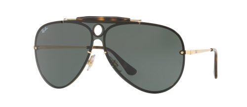 Ray-Ban BLAZE SHOOTER RB3581-N Gold/g-15 Classic Green (001/71)