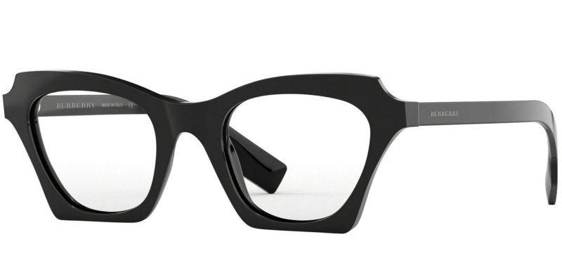 Burberry BLUEBIRD BE4283 Black/uva Uvb Transparent Protection Lenses (3001/1W)