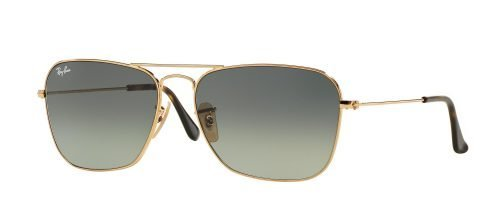 Ray-Ban CARAVAN RB3136 Gold/grey Shaded (181/71)