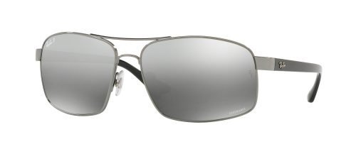 Ray-Ban CHROMANCE RB 3604CH Gunmetal/Grey Mir Grey Gradient Polar (004/5J)