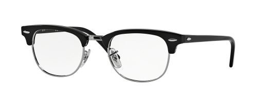 Ray-Ban CLUBMASTER RX5154 Shiny Black Silver (2000)