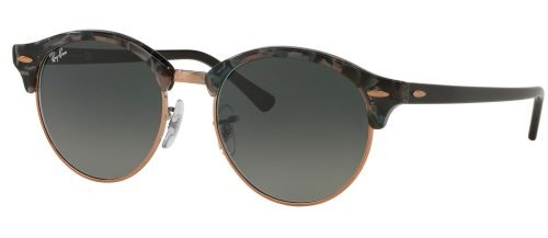 Ray-Ban CLUBROUND RB4246 Dark Havana/grey Shaded (1255/71)