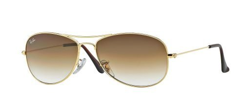 Ray-Ban COCKPIT RB3362 Gold/light Brown Shaded (001/51)
