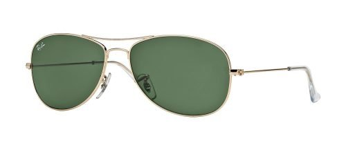 Ray-Ban COCKPIT RB3362 Arista Gold/crystal Green (001