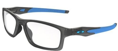 Oakley CROSSLINK OX8090 Satin Grey Smoke + Trubridge Nosepads (02)