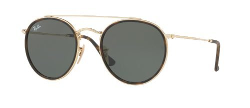 Ray-Ban DOUBLE BRIDGE RB3647-N Gold Havana/g-15 Classic Green (9067/71)