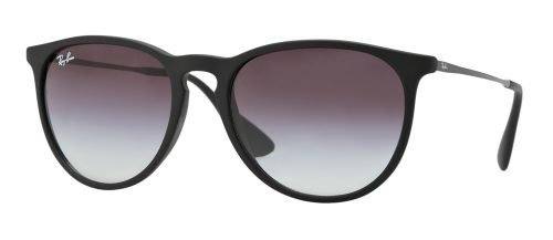 Ray-Ban ERIKA RB4171 Matte Black Rubber Dark Ruthenium/grey Shaded (622/8G)