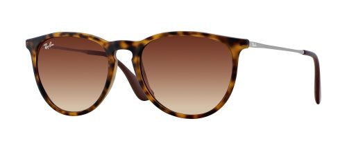 Ray-Ban ERIKA RB4171 Havana Rubber Ruthenium/brown Shaded (865/13)
