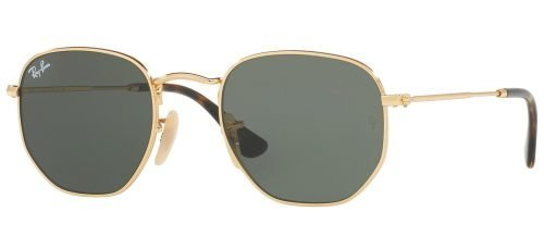 Ray-Ban HEXAGONAL METAL RB3548N Gold/g-15 Classic Green (001)