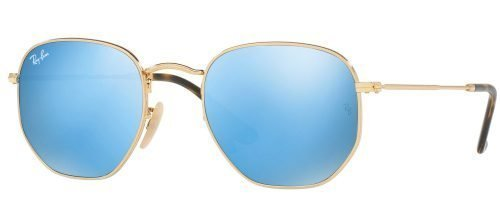 Ray-Ban HEXAGONAL METAL RB3548N Gold/blue (001/9O)