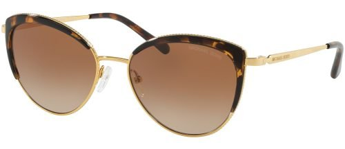 Michael Kors KEY BISCAYNE MK1046 Gold Havana/brown Shaded (1100/13)