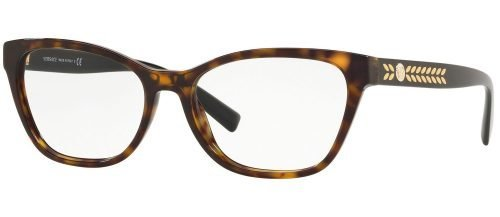 Versace MEDUSA LEAVES VE3265 Dark Havana (108)