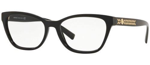 Versace MEDUSA LEAVES VE3265 Black (GB1)