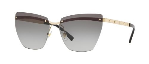 Versace MEDUSINA VE2190 Pale Gold/grey Shaded (1252/11