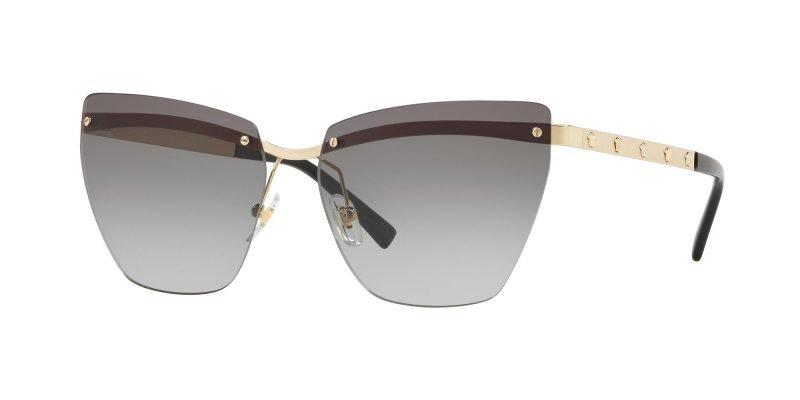 Versace MEDUSINA VE2190 Pale Gold/grey Shaded (1252/11