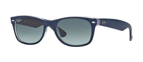 Ray-Ban NEW WAYFARER RB2132 Matte Blue Crystal/grey Shaded (6053/71)