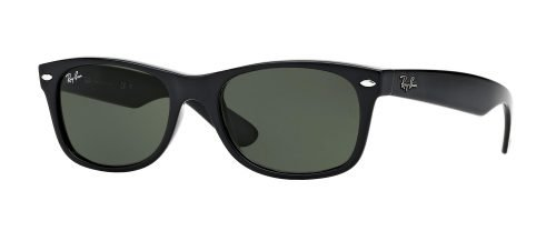 Ray-Ban NEW WAYFARER RB2132 Black/g-15 Classic Green (901)