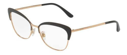 Dolce & Gabbana DG1298 Matte Black Rose Gold (01)