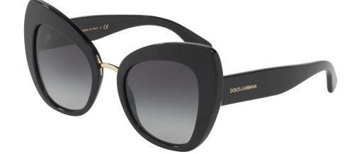 Dolce & Gabbana DG4319 Black/grey Shaded (501/8G)