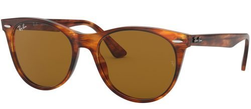 Ray-Ban RB2185 Striped Havana/brown (954/33)