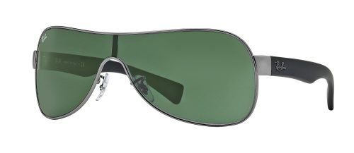 Ray-Ban RB3471 Ruthenium Black/grey Green (004/71)