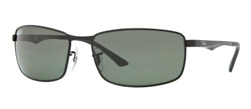 Ray-Ban RB3498 Black/grey Green Polarized (002/9A)
