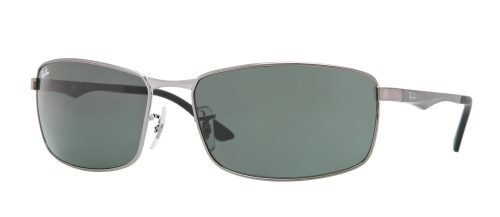 Ray-Ban RB3498 Ruthenium/grey Green (004/71)