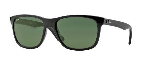 Ray-Ban RB4181 Shiny Black/grey Green (601)
