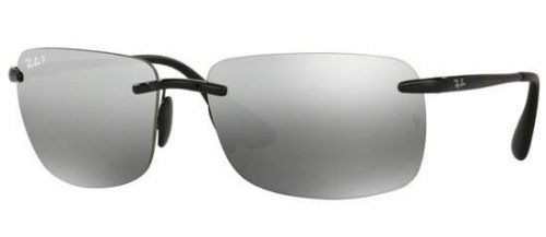 Ray-Ban RB4255 Shiny Black/grey Silver Mirror (601/5J)