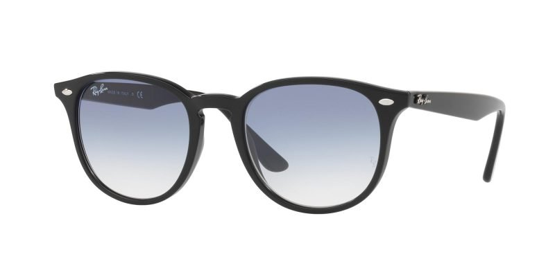 Ray-Ban RB4259 Black/light Blue Shaded (601/19)
