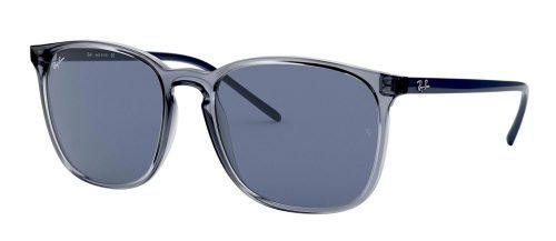 Ray-Ban RB4387 Transparent Blue/blue (6399/80)