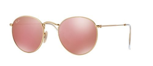 Ray-Ban ROUND METAL RB3447 Matte Gold/copper (112/Z2)
