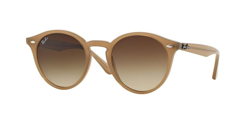 Ray-Ban ROUND RB2180 Turtledove/brown Shaded (6166/13)